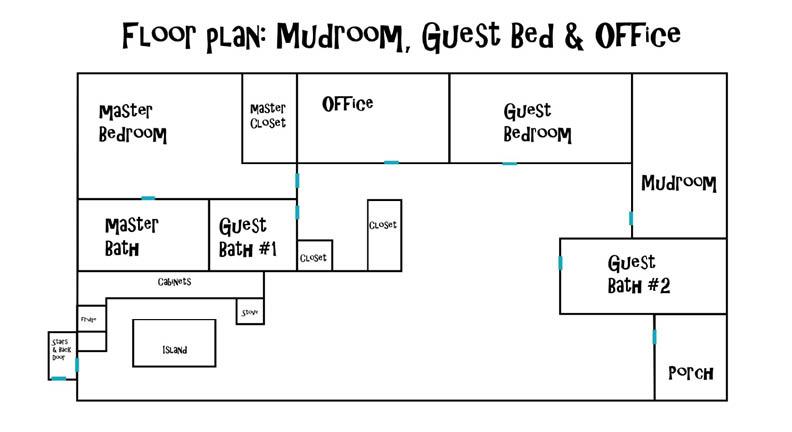 mudroom floorplan