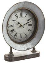 Galvanized Farmhouse Clock