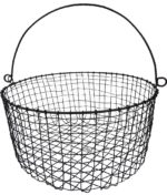 Large Metal Cabo Basket