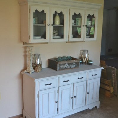 The Hutch Makeover Part Two