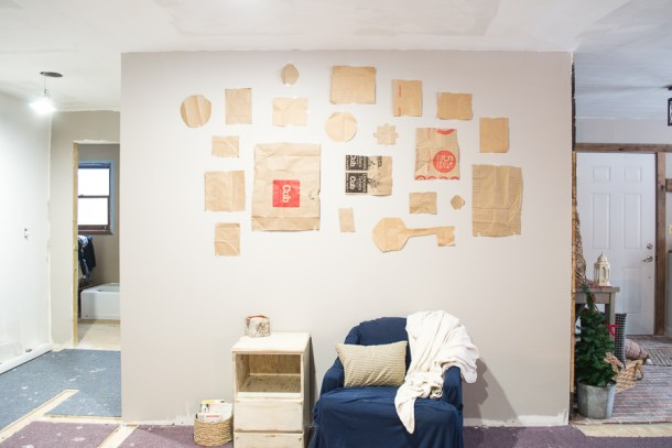 step four how to hang a gallery wall in five steps