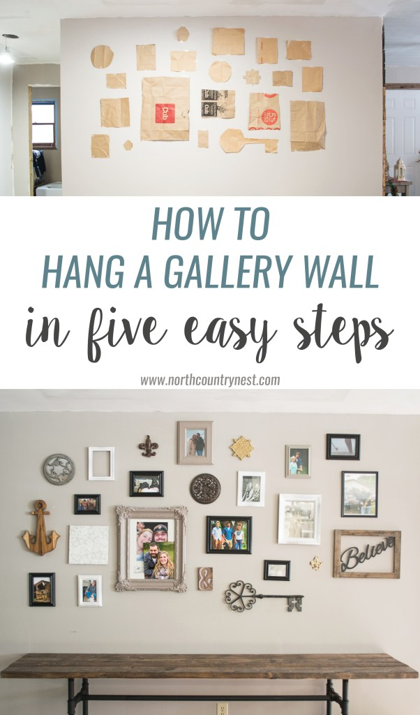 How to hang a gallery wall in five easy steps