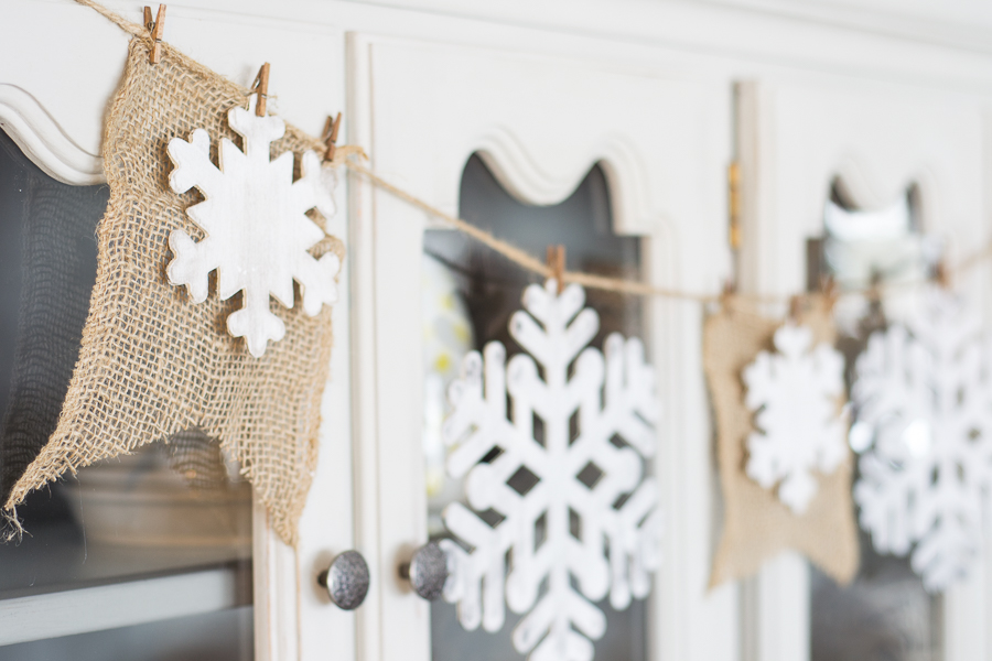 Rustic Farmhouse Winter Home Decor Crafts