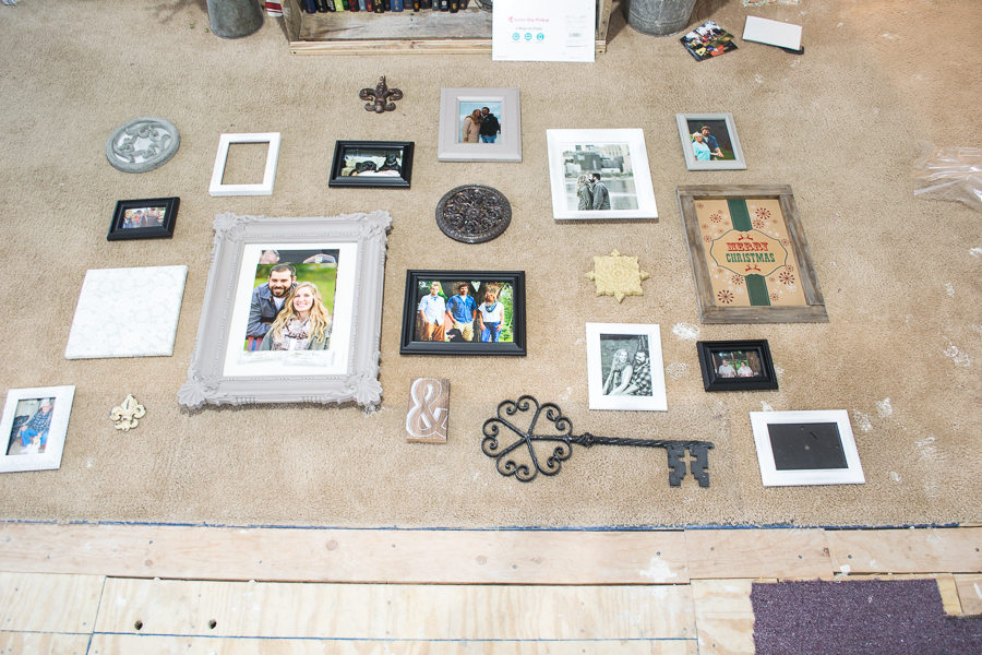 step one how to hang a gallery wall in five steps