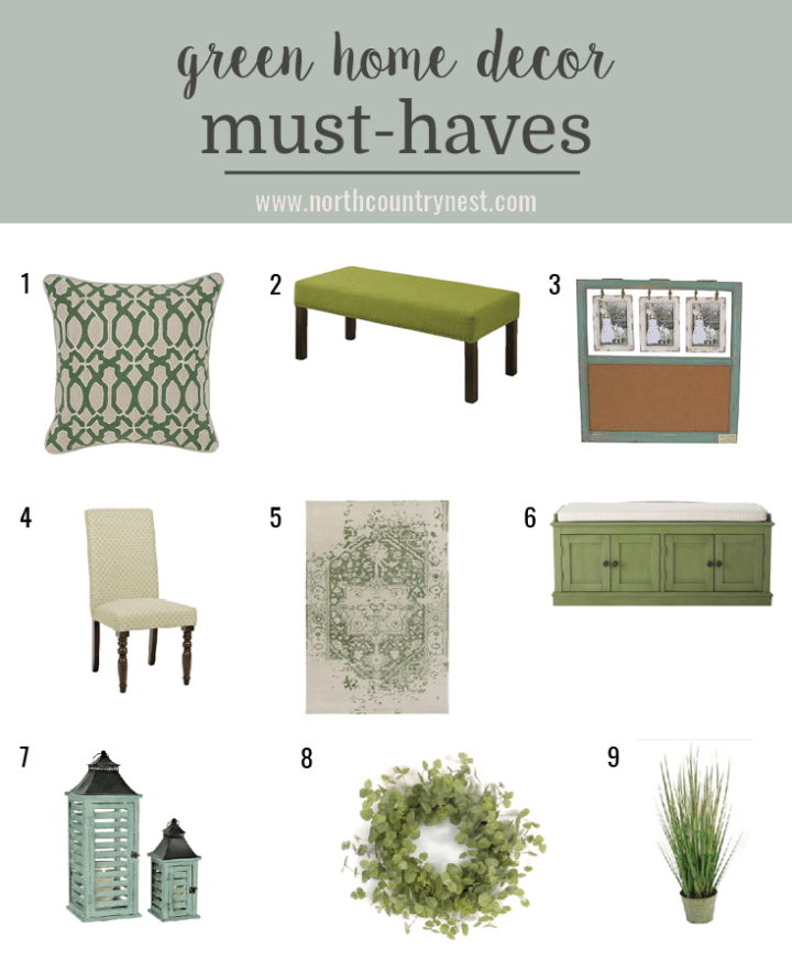 Green Home Decor Must Haves