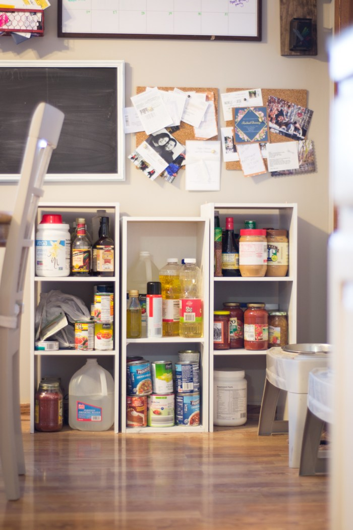 Farmhouse Style Pantry Cabinet