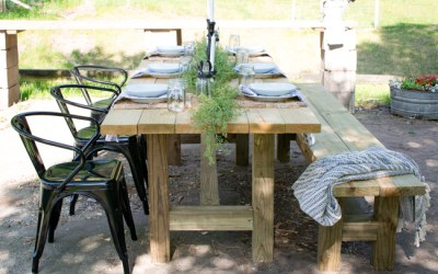 Summer Tablescape & Blog Hop