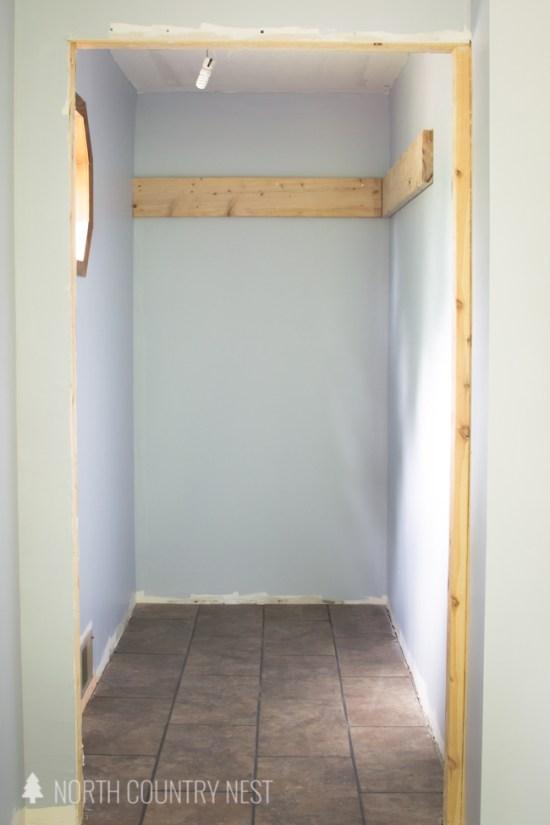 upward by sherwin williams wall paint in closet