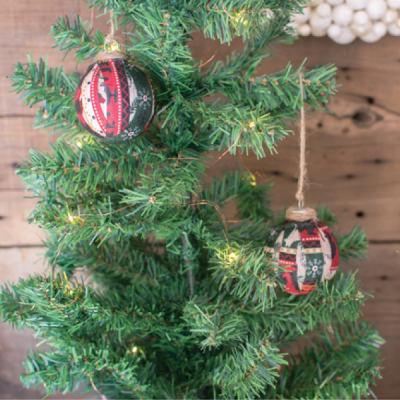 DIY Rustic Christmas Ornament