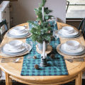 rustic buffalo check holiday decor
