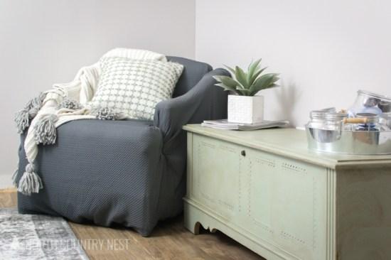 cozy nook seating area
