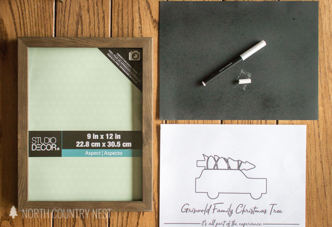 chalkboard sign supplies