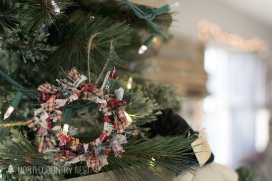 mason jar rustic ornament
