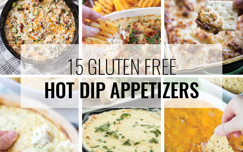15 gluten free hot dip appetizers