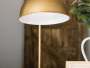 antique brass table lamp for the living room