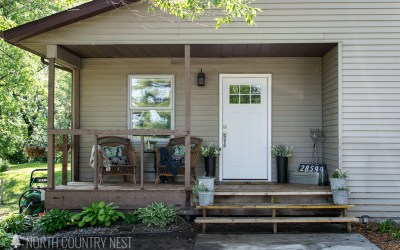 Simple Front Porch Decor + Blog Hop
