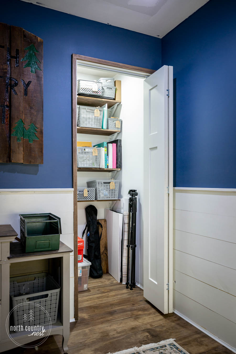 small office closet
