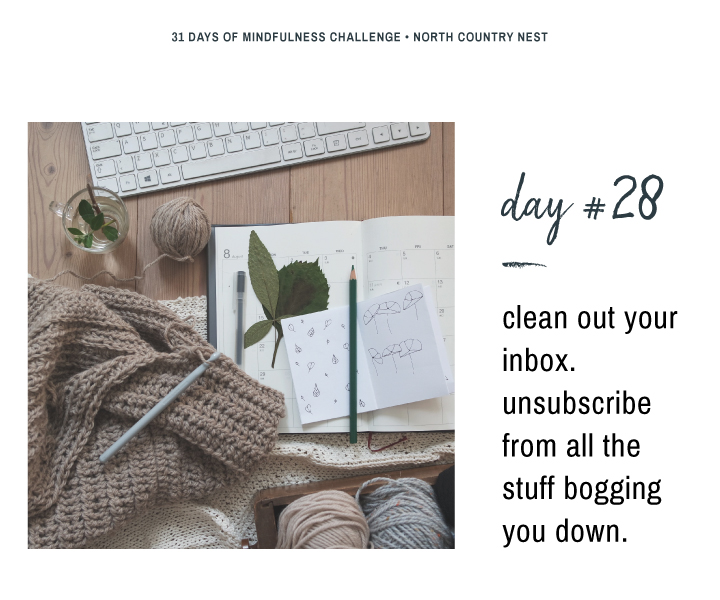 Mindfulness Challenge Day 28: Clean Out Your Email Inbox