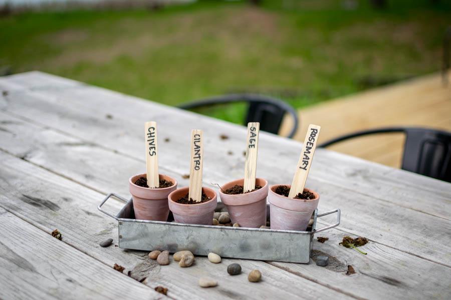 Indoor + Outdoor DIY Herb Garden