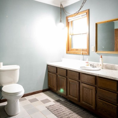 A Bathroom Remodel – The Before + Design Plans