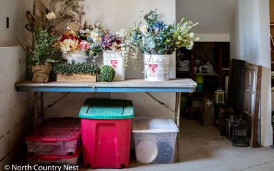 How To Store and Organize Non-Seasonal Home Decor Items