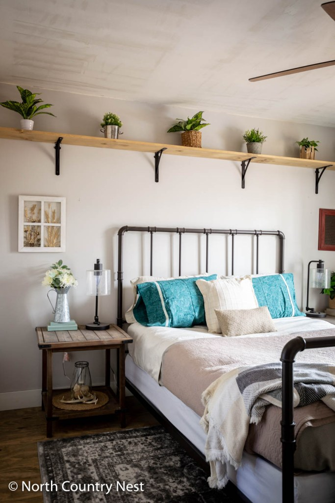 Decorating a guest bedroom for spring