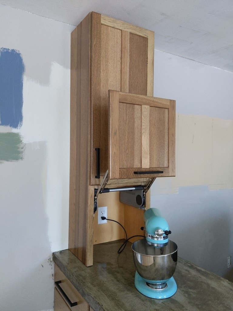 Kitchenaid Mixer Storage | North Country Nest