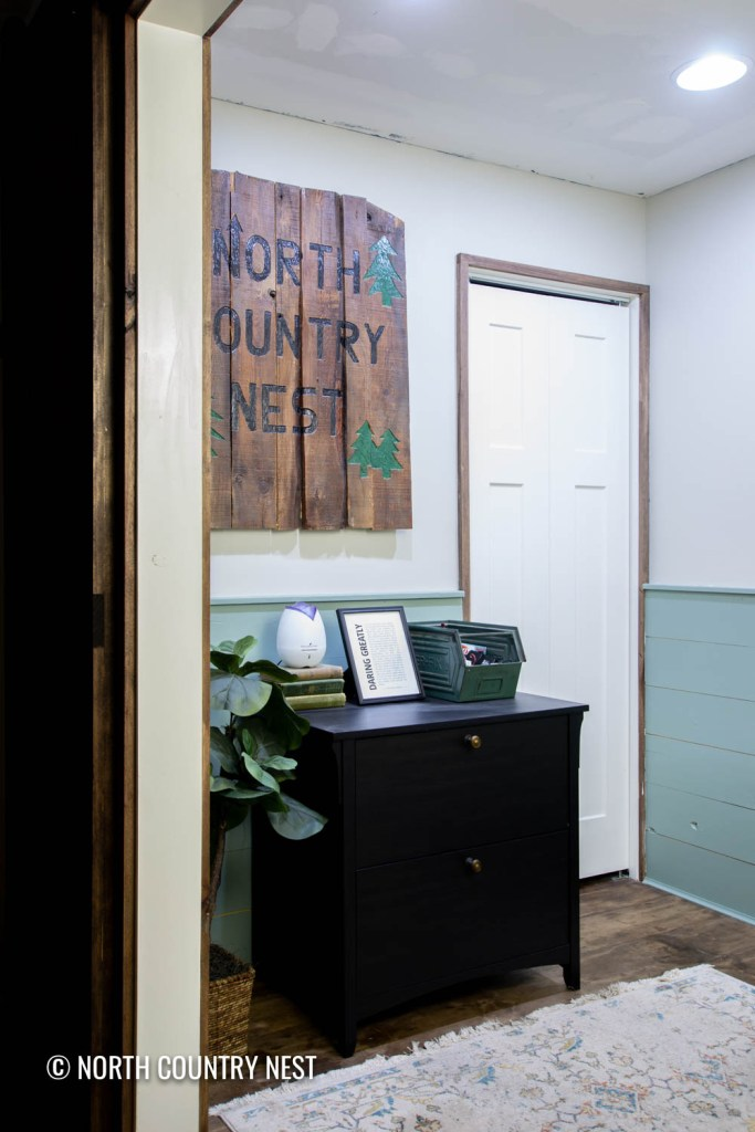 Cozy Home Office Paint Colors and Decor | North Country Nest