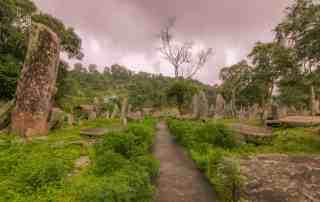 Nartiang Monoliths, Jowai, Meghakaya