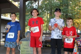 Male 10 and under Linton, Owen 852