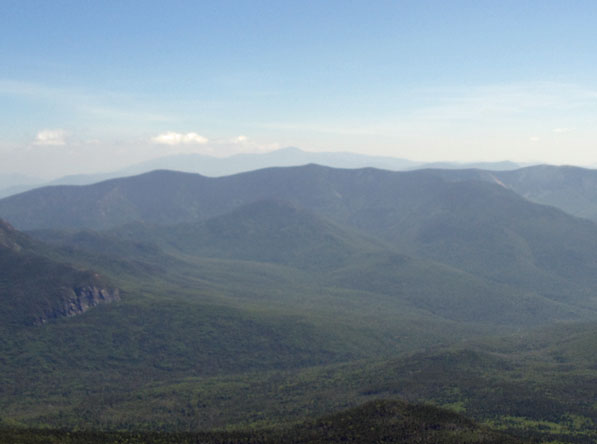 View from the summit of Mt. Lafayette.