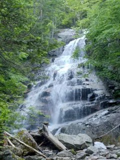 Waterfall on the Falling Waters Trail.