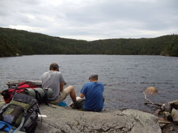 Speck Pond, the highest pond in Maine.