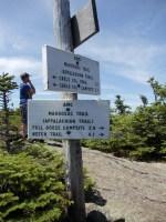 Goose Eye Mountain on the Maine Appalachian Trail hike