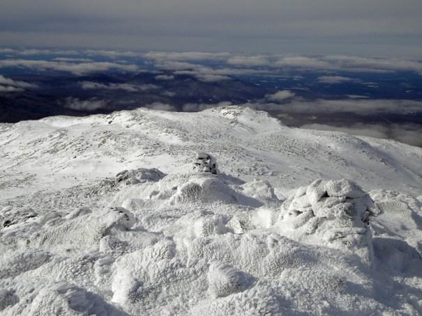 Sam Adams Peak from the Summit of Mt. Adams