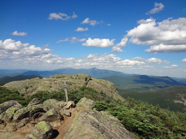 South Twin Summit North View on NH Appalachian Trail