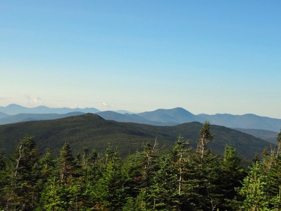 Mt. Clinton view of Mt. Jackson in the NH Presidential Range