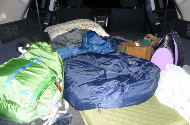 Pemi Loop Car Camping