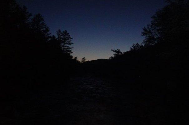 Dawn on the Pemigewasset Wilderness