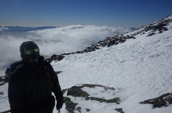 Looking Up Mt. Washington
