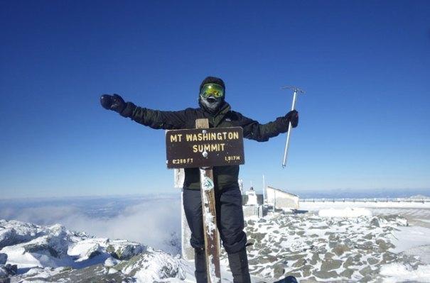 Mt. Washington Summit Winter