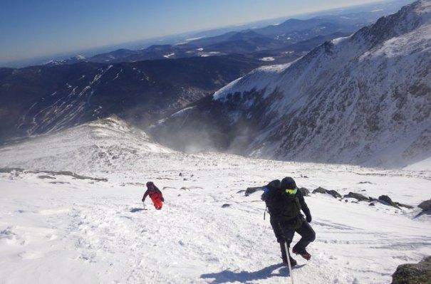 Mt. Washington Cone Climb