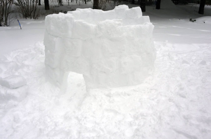 Igloo Getting Bigger