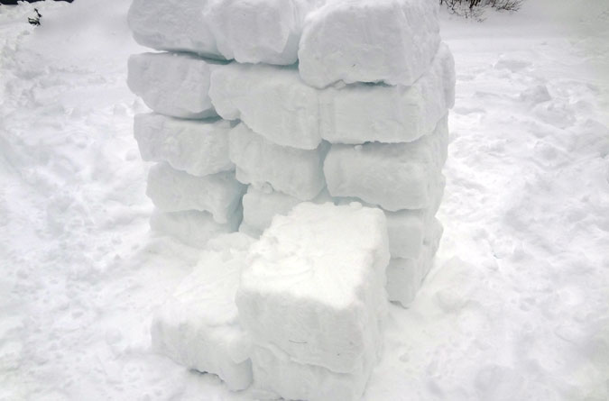 Igloo Snow Blocks