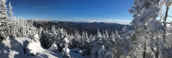 Mt. Tecumseh NH Summit View in Winter