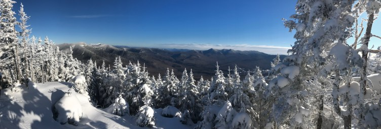 Mt. Tecumseh NH Summit View in Winter