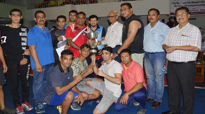 N F Railway boxers shine in the 72nd Men's and 11th Women's All India Railway Boxing championship