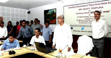 Agartala- Tripura's Govt opens its facebook account