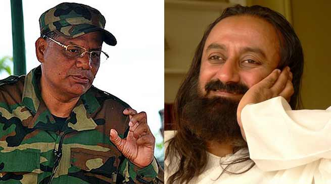 Paresh Barua rejects Sri Sri Ravishankar Apeal for peace talk