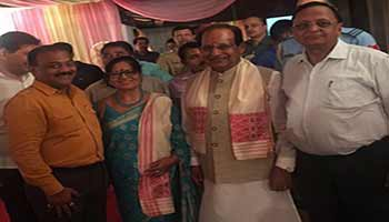 Prof Jagdish Mukhi Takes Oath As Governor of Assam
